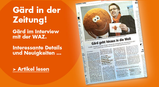 Gärd im WAZ Interview